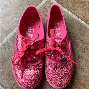 Keds pink sequins sneakers size 1.5